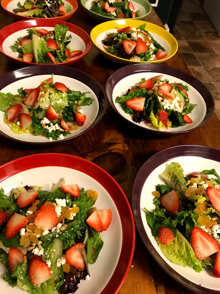 Strawberries-Golden-Raisin-Salad-with-Poppyseed-Dressing