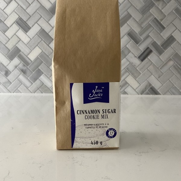 Cinnamon Sugar Cookie Mix Packaging